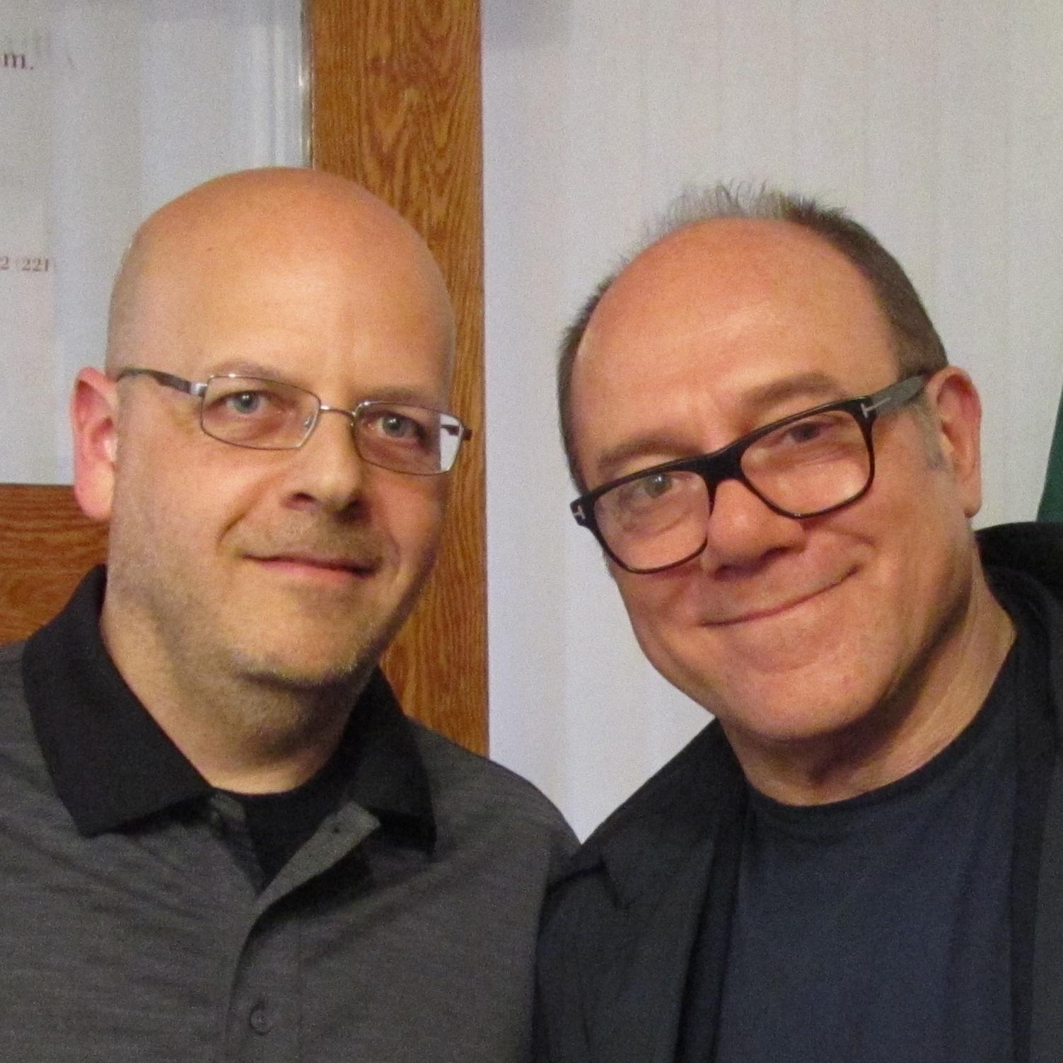 Luciano Lombardi, Carlo Verdone - Toronto 2014