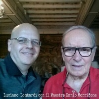 Meeting legendary composer Maestro Ennio Morricone